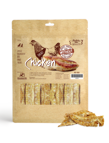 Air Dried Deboned Chicken Breast Dog and Cat Treats 500g