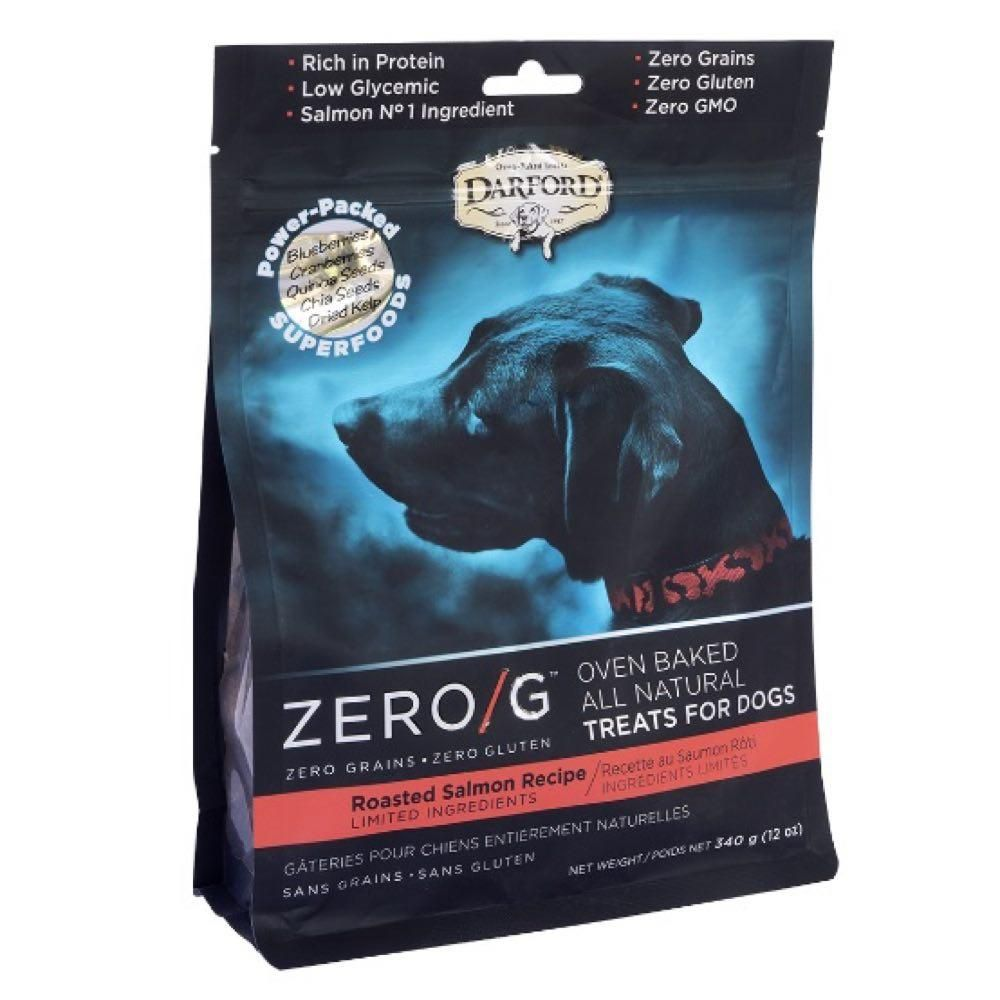 Zero/G Roasted Salmon Dog Treat