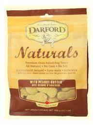 Naturals Peanut Butter Dog Treats 400g
