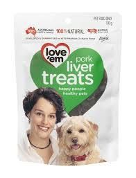 Pork Liver Treats for Dogs 100g