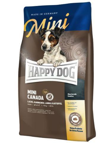 Happy Dog Supreme Mini Canada Salmon, Rabbit, Lamb & Potato Dog Dry Food