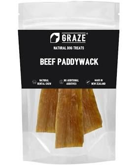 NZ Natural Odorless Beef Paddywack Dog Chew 100g