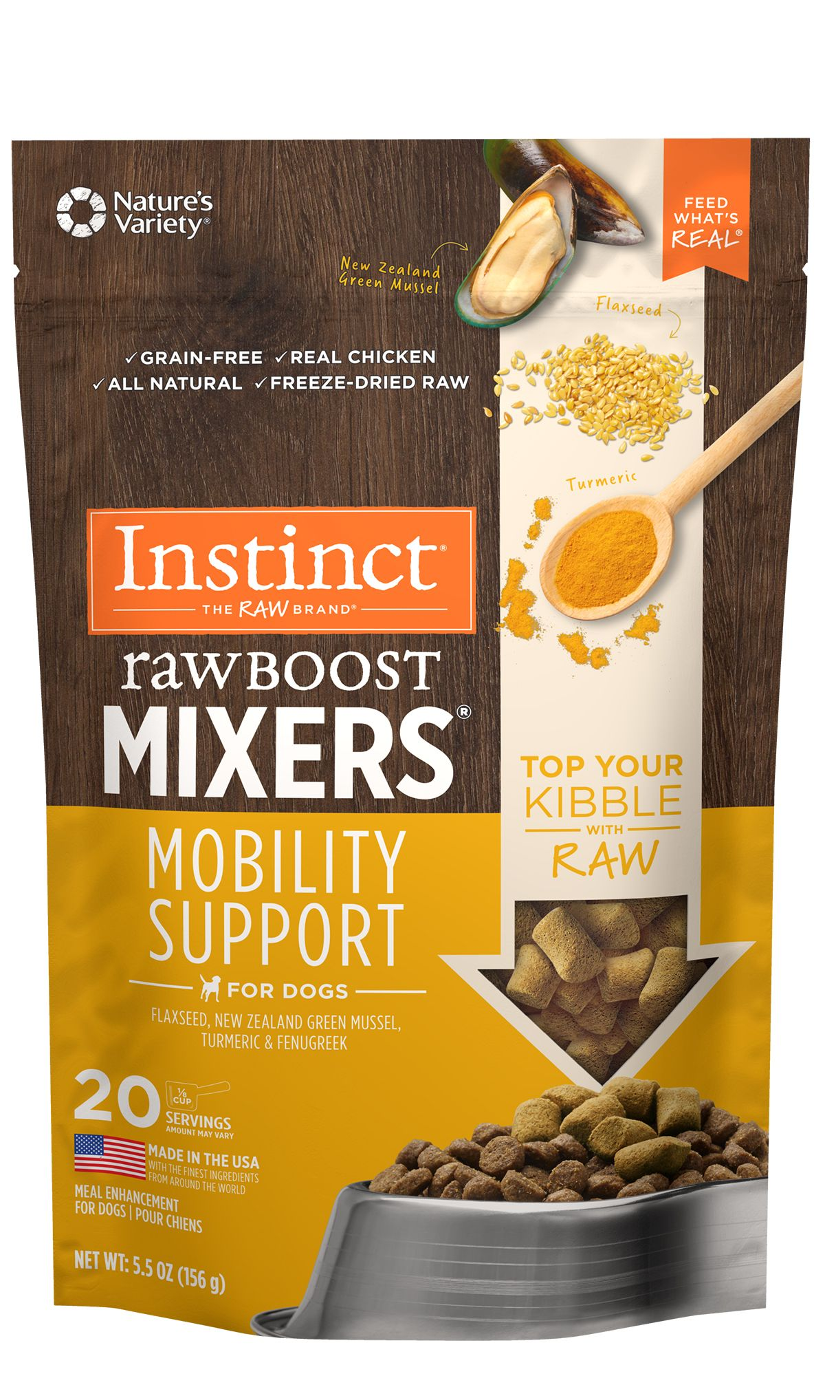 Raw Boost Mixers - Mobility Support