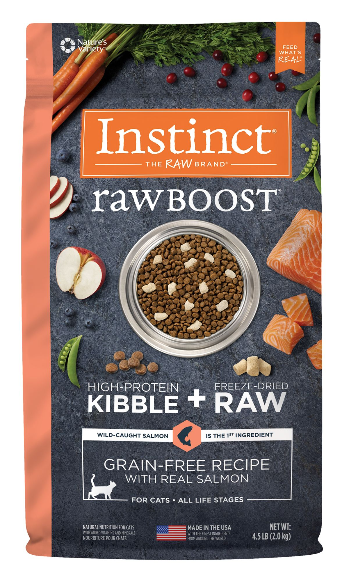 Raw Boost® Grain-Free Recipe with Real Salmon