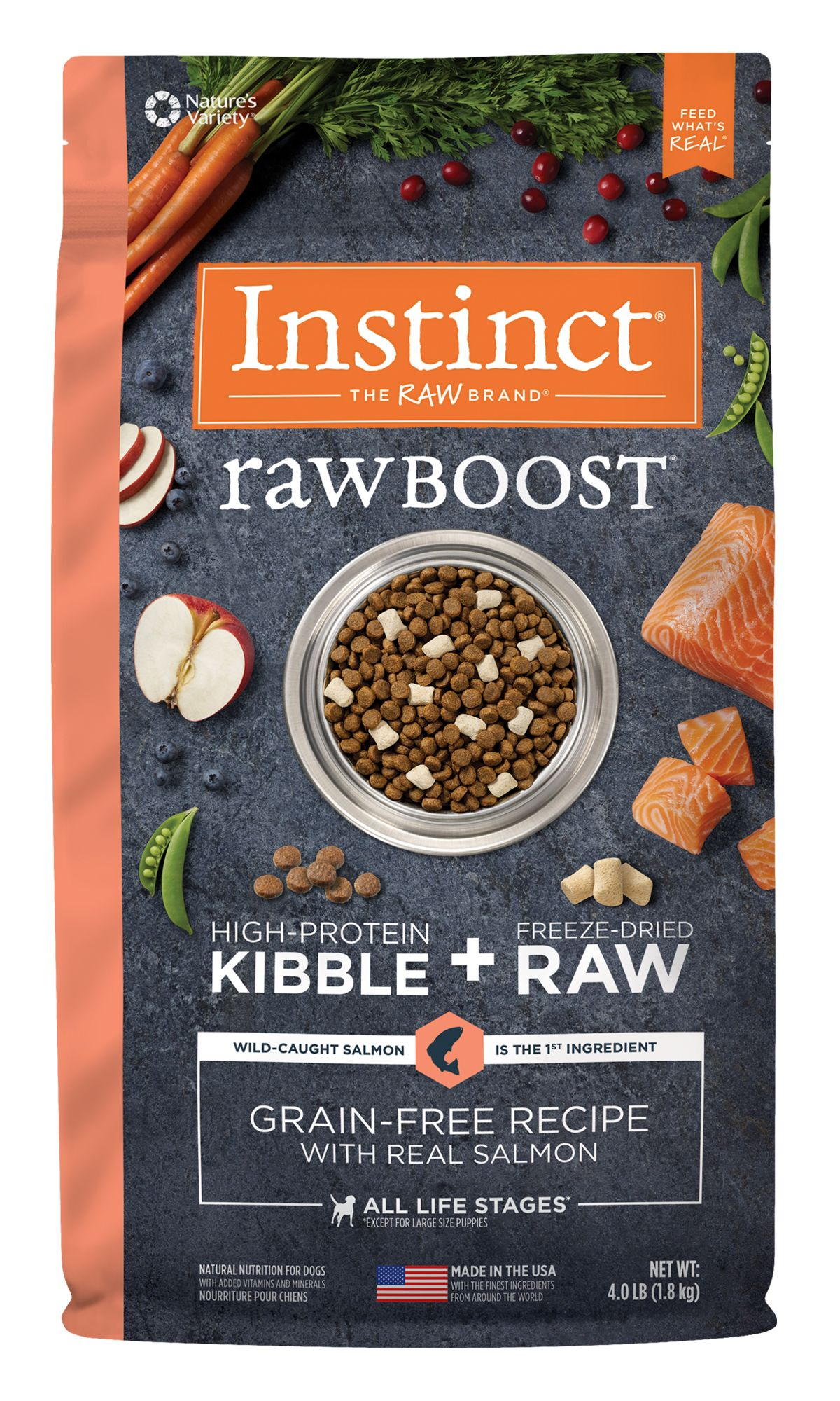 Raw Boost Grain-Free Recipe with Real Salmon