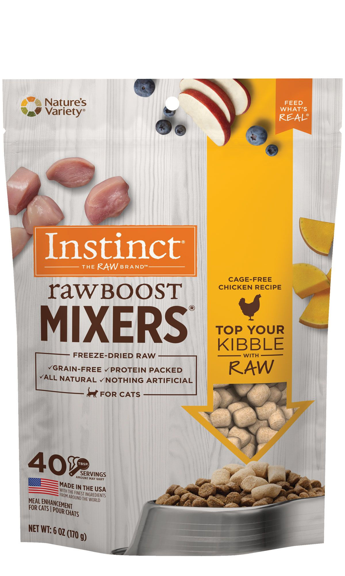 Raw Boost Mixers Cat Cage-Free Chicken