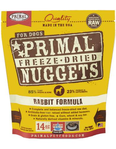 Freeze-Dried Canine Rabbit Formula 14oz