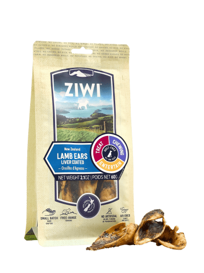 Lamb Ears Air Dried Dog Treats 60g
