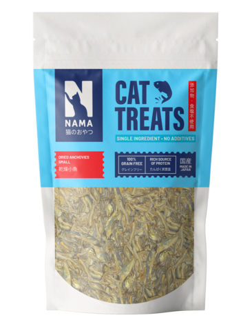 Dried Anchovy Treats for Cats (Small)