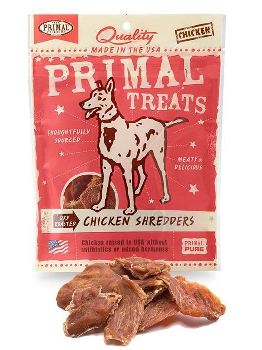 Primal Dry Roasted Chicken Shredders Treat