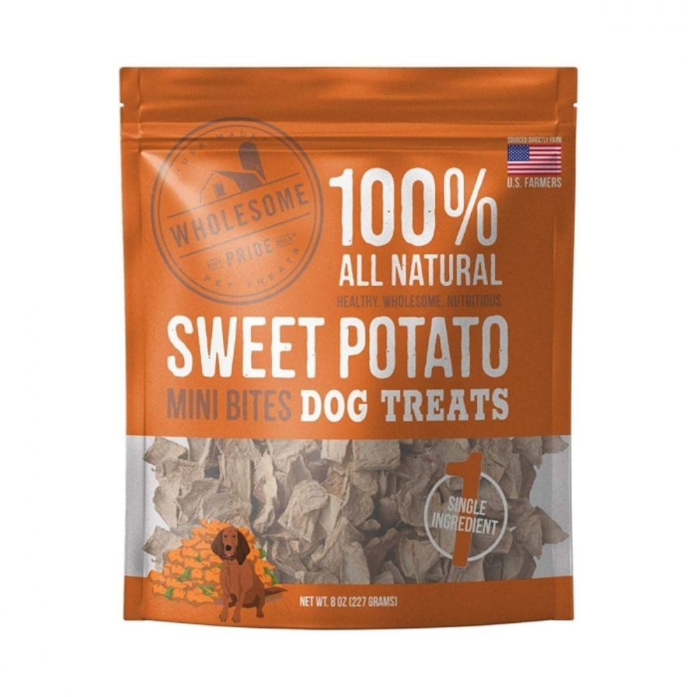 Sweet Potato Mini Bites Dog Treat 8oz
