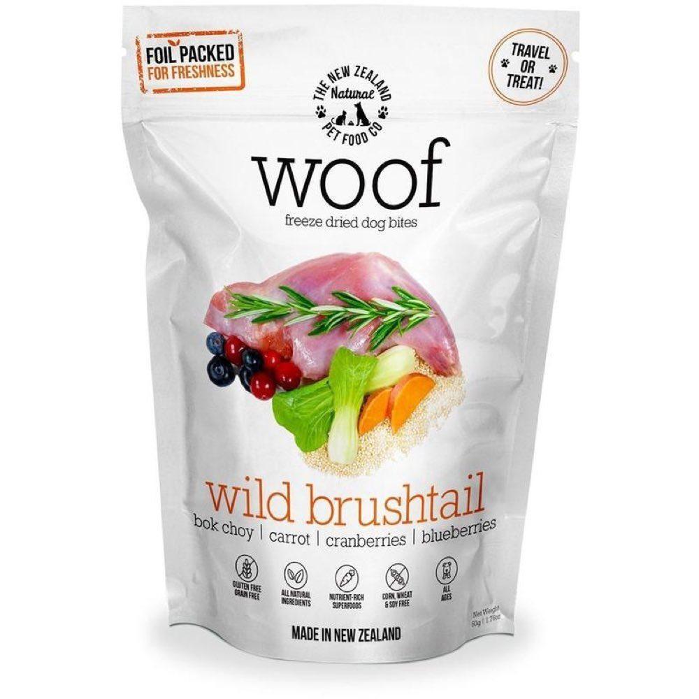 Wild Brushtail Freeze Dried Dog Treats 50g
